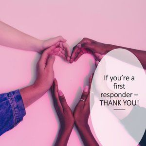 💗30% off for First Responders! 💗